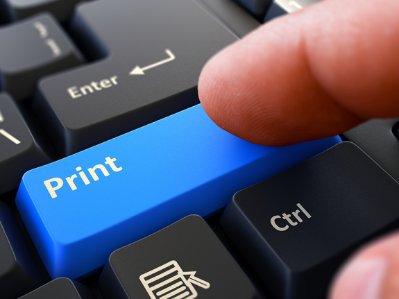 print button on keyboard