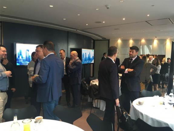Cloud Services Event Guest Picture Gherkin London